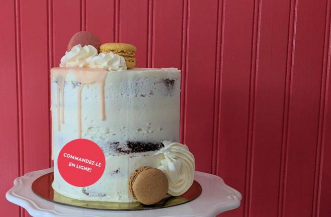 Dégustez et admirez notre nouveau Naked Cake!