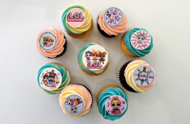 Des cupcakes originaux pour fêtes d'enfants