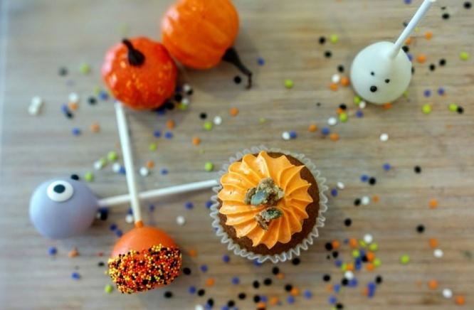 L'automne se souligne avec notre cupcake citrouille et épices