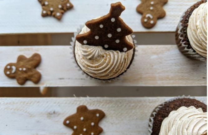 Les cupcakes des fêtes sont arrivés!