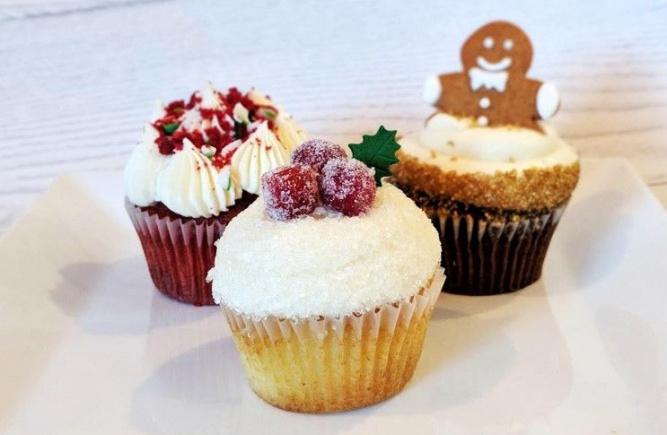 Nos cupcakes de collections pour le temps des Fêtes!