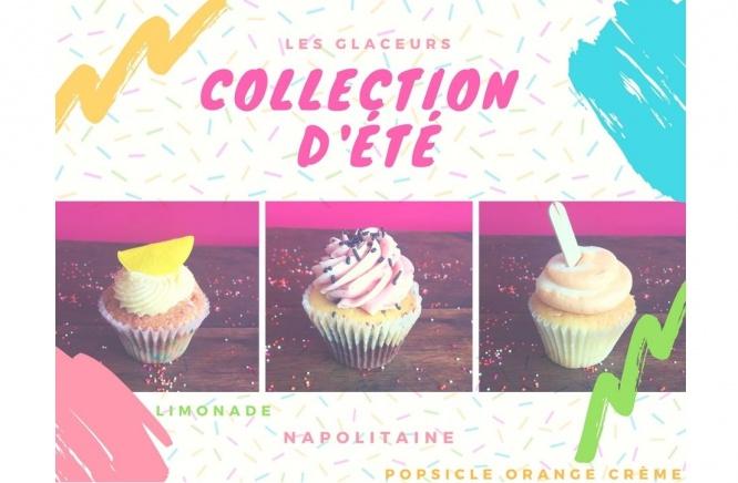 Notre collection de cupcakes d'été sont arriver!