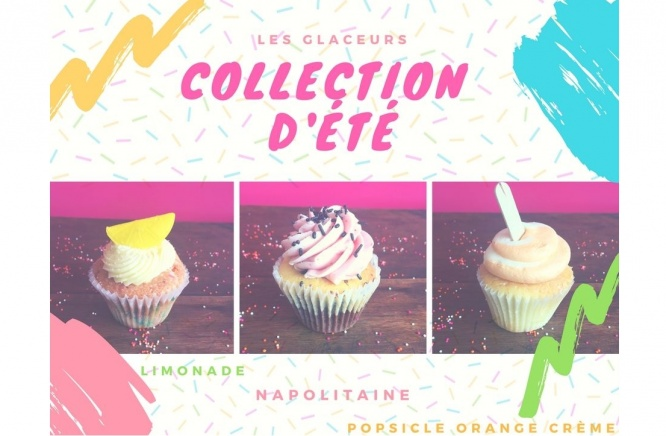 Our summer cupcakes flavors have arrived!