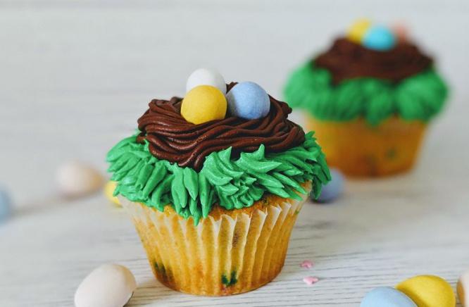 Nouveau cupcake pour Pâques!