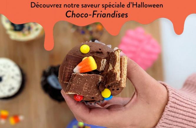 Plein d'autres belles surprises vous attendent tout au long du mois d'octobre chez Les Glaceurs!