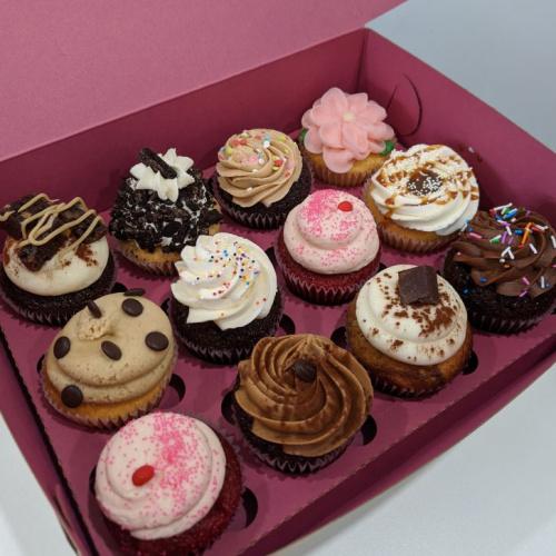 Boîte assortie - 12 cupcakes