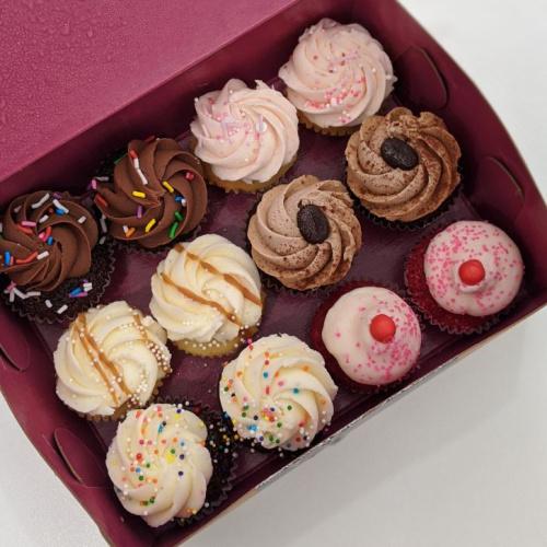 Boîte choix du chef - 12 mini cupcakes