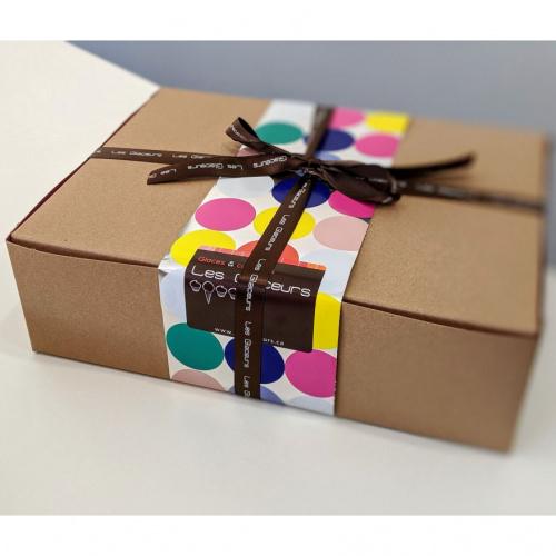 Boîte d'Anniversaire - 6 cupcakes