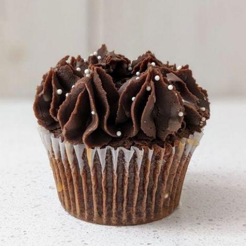 Choco-ganache au caramel salé