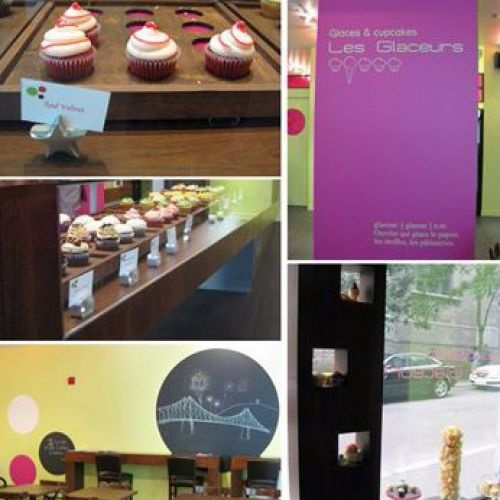 COOL CUPCAKES AT LES GLACEURS