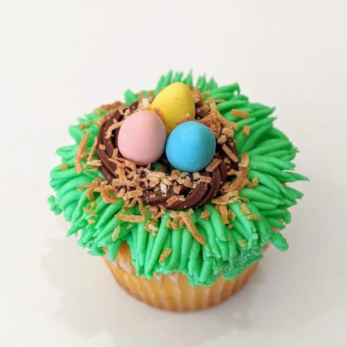 Cupcake spécial de Pâques