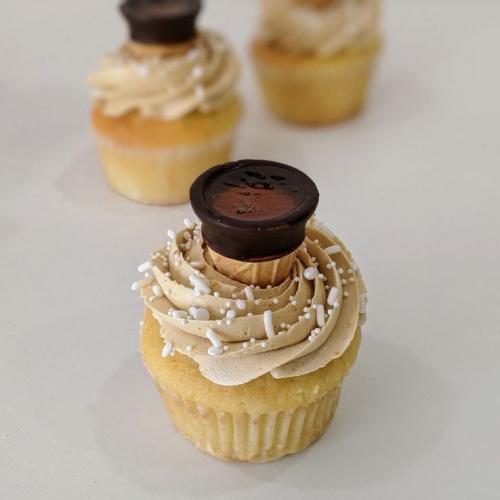 Maple Taffee Cupcake