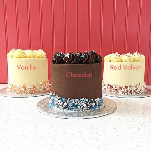 Gâteau classique - 12 à 15 portions