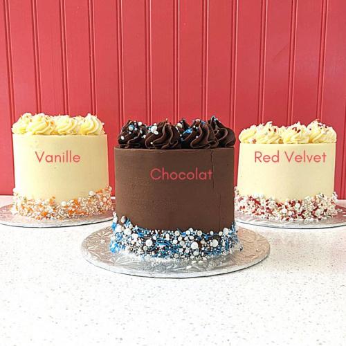 Gâteau classique - 6 à 8 portions