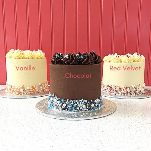 Gâteau classique de 2 à 4 portions