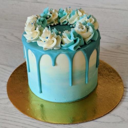 Gâteau coulis 6 à 8 portions