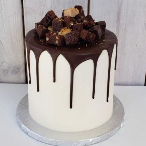 Gâteau décadent 6 à 8 portions