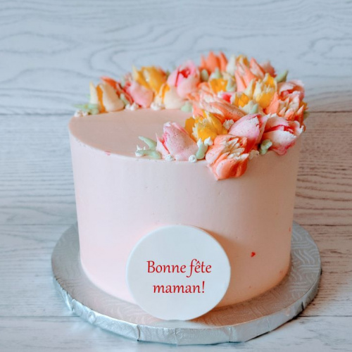 Gâteau fête des mères - 2 à 4 portions