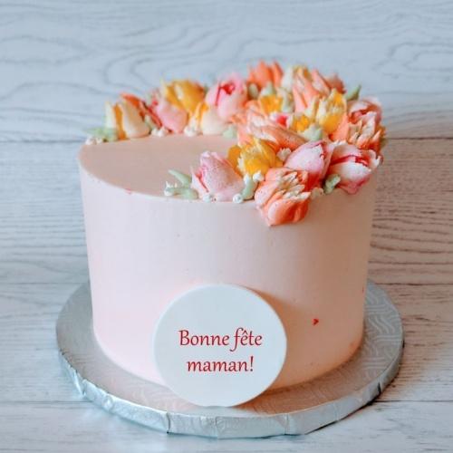 Gâteau Fête des Mères (6 à 8 portions)
