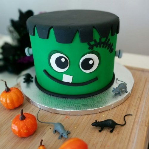 Gâteau Frankenstein