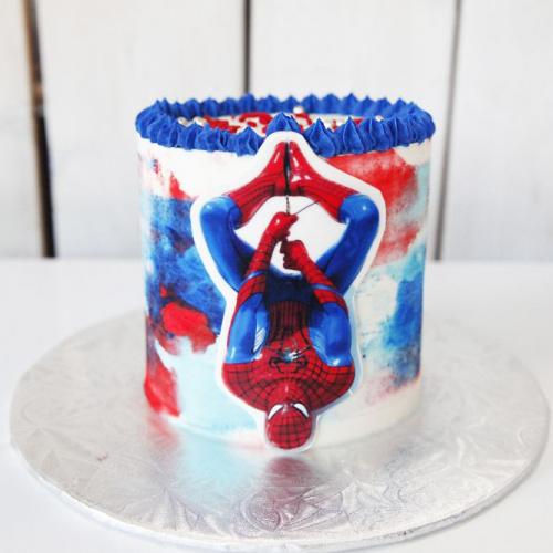 Gâteau Homme araignée - 2 à 4 portions