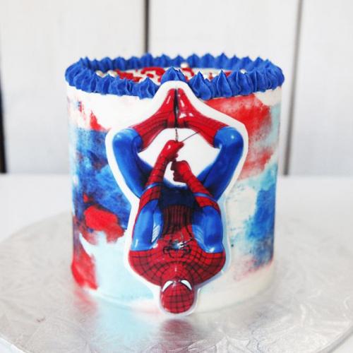 Gâteau Homme araignée - 6 à 8 portions