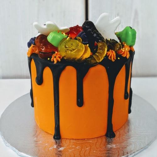 Gâteau jujubes Halloween