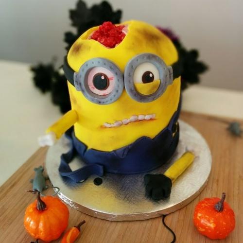 "Gâteau Minion ""zombie"""