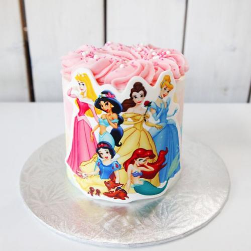 Gâteau Princesses - 2 à 4 portions