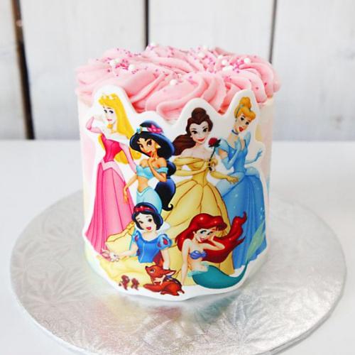 Gâteau Princesses - 6 à 8 portions