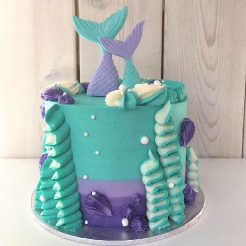 Gâteau sirène