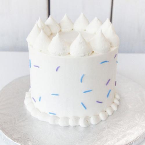 Gâteau Végane Vanille - 2 à 4 portions