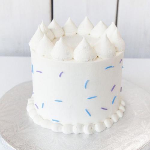 Gâteau Végane Vanille - 6 à 8 portions