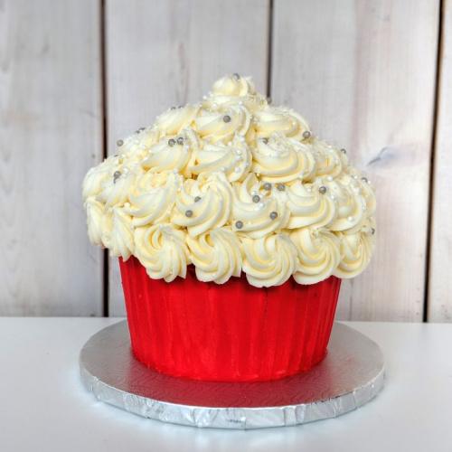 Géant Cupcake des Fêtes