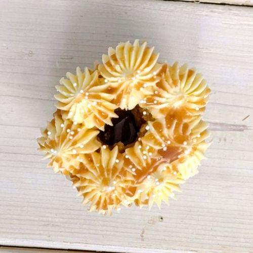Vanilla with salted caramel